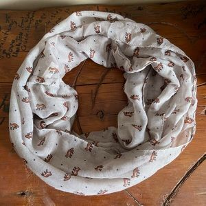 Accessories - Fox Infinity Scarf